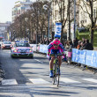 The Cyclist Palini Andrea Francesco- Paris Nice 2013 Prologue in Houilles — Stock Photo