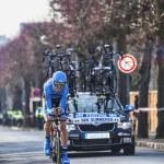 Постер, плакат: The Cyclist Van summeren Johan Paris Nice 2013 Prologue in Houilles