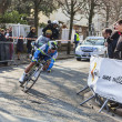 The Cyclist Matthews Michael- Paris Nice 2013 Prologue in Houill — Stock Photo