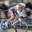 The Cyclist Willems Frederik- Paris Nice 2013 Prologue in Houill — Stock Photo
