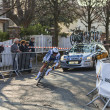 The Cyclist De gendt Thomas- Paris Nice 2013 Prologue in Houille — Stock Photo