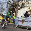 Stock Photo: The cycling road race Paris - Nice 2013 in Houilles