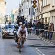 Cycling road race Paris- Nice 2013 in Houilles — Stock Photo #26304621