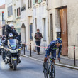 The cycling road race Paris- Nice 2013 in Houilles — Stock Photo