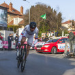 The Cyclist Denis Menchov- Paris Nice 2013 Prologue in Houilles — Stock Photo