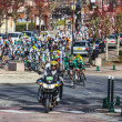 The famous road bicycle race Paris-Nice — Stock Photo #26550885