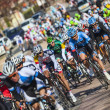 The famous road bicycle race Paris-Nice — Stock Photo