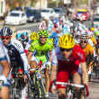The famous road bicycle race Paris-Nice — Stock Photo #26550897