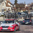 The famous road bicycle race Paris-Nice — Stock Photo #26550907