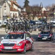 Stock Photo: The famous road bicycle race Paris-Nice
