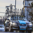 The famous road bicycle race Paris-Nice — Stock Photo #26550921