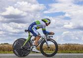 австралийский велосипедист симон джерранс — Стоковое фото