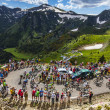 Stock Photo: The Peloton in Mountains