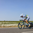 The Cyclist Wouter Poels — Stock Photo