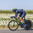 Постер, плакат: The Cyclist Alejandro Valverde