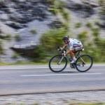 The Cyclist Samuel Dumoulin — Stock Photo