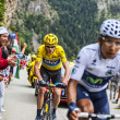 Duel at Alpe D'Huez — Stock Photo