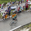 Tour de France Excitement — Foto Stock