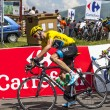 Stock Photo: Yellow Jersey- Christopher Froome