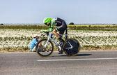 The Cyclist Bauke Mollema — Stock Photo