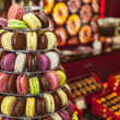 Pyramid of Macarons — Stock Photo