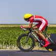The Cyclist Rudy Molard — Stock Photo