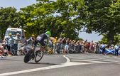 The Cyclist Maarten Wynants — Stock Photo