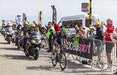 The Cyclist Alejandro Valverde Belmonte — Stock Photo