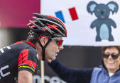 The Cyclist Cadel Evans — Stock Photo