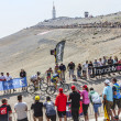 climbing mont ventoux — Stock Photo