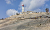Mont Ventoux- a Cyclist Monument — Stock Photo
