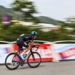 The Cyclist Geraint Howell Thomas — Stock Photo