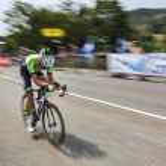 The Cyclist Tom Leezer — Stock Photo