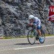 The Cyclist Johannes Frohlinger — Stock Photo