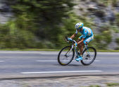 The Cyclist Alexey Lutsenko — Stock Photo