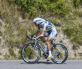 The Cyclist Johnny Hoogerland — Stock Photo