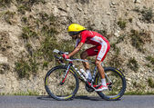 The Cyclist Luis Angel Mate Mardones — Stock Photo