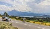 Tour de France Landscape — Foto de Stock