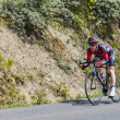 The Cyclist Brent Bookwalter — Stock Photo