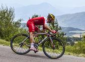 El ciclista christophe le mevel — Foto de Stock