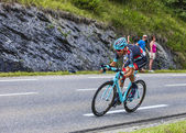 The Cyclist Haimar Zubeldia — Stock Photo