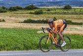 Il ciclista mikel astarloza — Foto Stock