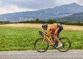 The Cyclist Mikel Astarloza — Foto de Stock