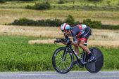 The Cyclist Andreas Kloden — Foto de Stock