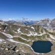 Lac Blanc from Vallee de la Claree, France — Stock Photo