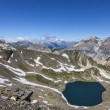 Lac Blanc from Vallee de la Claree, France — Stock Photo #40502661