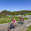 Stock Photo: Cycling in Pyrenees