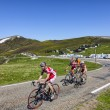 Cycling in Pyrenees — Stock Photo