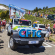 Stock Photo: CFTC Car in Pyrenees Mountains