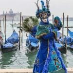 Blue Venetian Disguise — Stock Photo #41477607